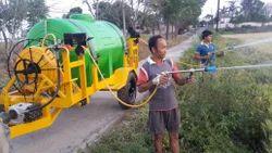 Twin Gun Trolley Sprayer