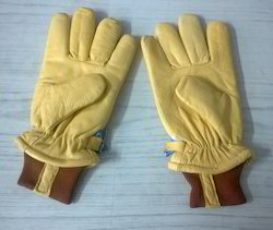 Leather Freezer Gloves