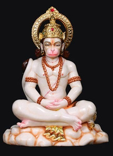 Marble Hanumanji Amp Ram Darbar Shri Hanuman Ji Statue
