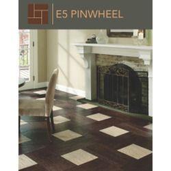 Pinwheel Pattern Flooring
