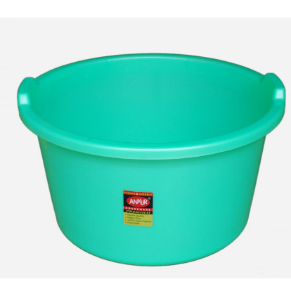 deep plastic tub view specifications details by jagdamba