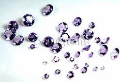 Amethyst Round Gemstone