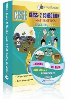 CBSE Class 2 Combo Pack English, Maths, EVS - Average 2