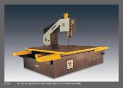Stellite Plate Cutting Vertical Bandsaw Machine