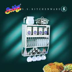Stainless Steel Utensil Rack