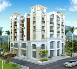 Residential Cum Commercial Apartment