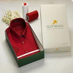 Red Shirt Silks Shirts
