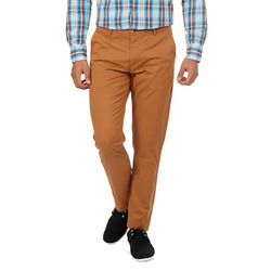 Brown Casual Trouser
