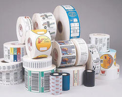 Multi Color Self Adhesive Labels