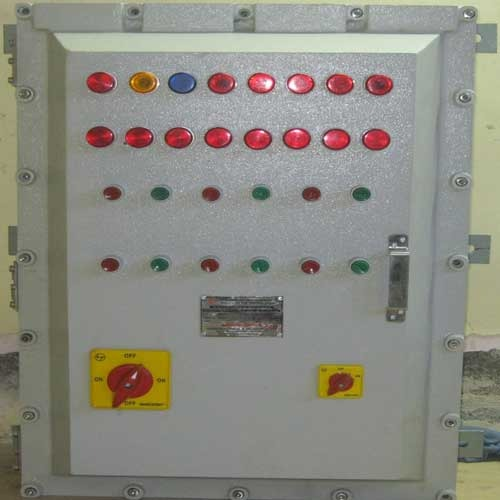 Flameproof Instrument Control Panel