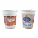 Ice Cream Plastic Glass