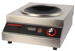 Commercial Wok-Induction Stove 5000W