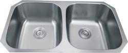 Undermount Stainless Steel Kitchen Sink 50/50