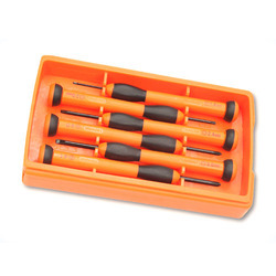 RCC Orange Precision Screw Driver Set, Packaging Type: Box , For Commercial