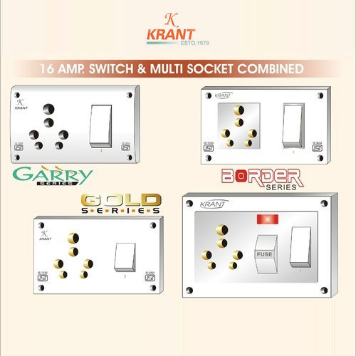 16a Combined Switch Socket & 5 in1 - Amit Electricals, Delhi ... on