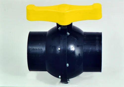 Black Polypropylene PVC Heavy Duty Ball Valve