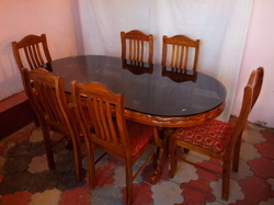 Dining Table And Chair Set   View Specifications   Details of Dining Table  Chair by The Furniture  Ernakulam   ID  8413281912Dining Table And Chair Set   View Specifications   Details of  . Dining Table Set Price In Kerala. Home Design Ideas