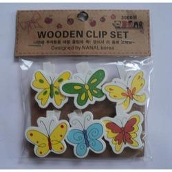 Bookmark Wooden Butterfly Clip