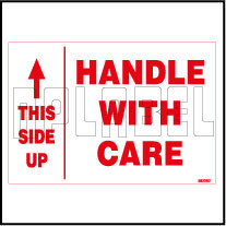 582262 Handle With Care/Up Side Labels