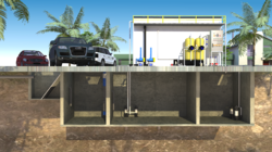 Below Ground Waste Water Treatment
