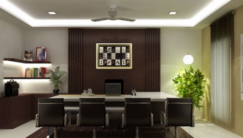 Manager Cabin Design Service, Bedroom Design, Home Interior Design ...