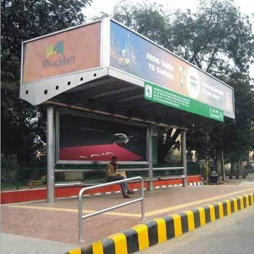 Stainless Steel Bus Stop Shelter At Rs 500000 Unit S