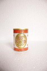 Marble Pen Holder Gold Boota 4 inch