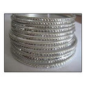 Silver Metallic Bangle Sets