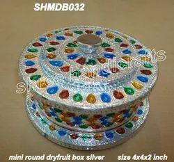 Minakari Round Container