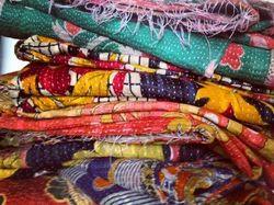 Handmade Kantha Throw Vintage Kantha Throw