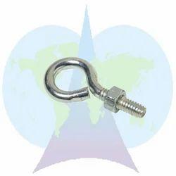 Parshva Silver Eye Hooks, Size: 12/16-38.1/42.4/50.9mm