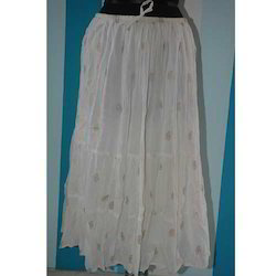 Long Voile Skirt