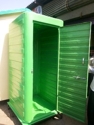 Green Eco Toilet Block