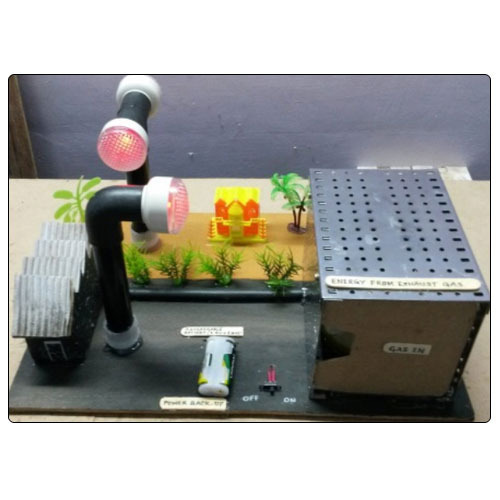 School Exhibition Models Energy From Waste Gases Model