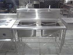 Two Sink Unit Size : 48