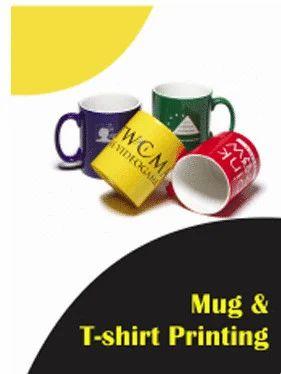 T Shirt Mug Print Mug Printing Services Bright Design Dehradun Id 6422722730