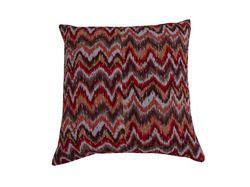 Kantha Zigzag Cotton Cushion Cover 16x16