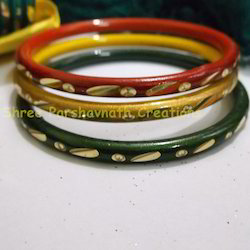 Golden Cutting Bangles