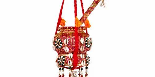 Decorative Hanging Bandhani Pot Service Provider From