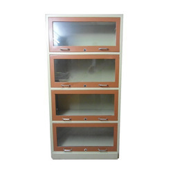 4 Glass Frame Bookcase