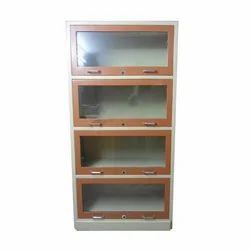 4 Glass Frame Bookcase