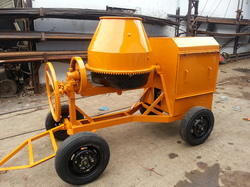 Half Bag CI Drum Concrete Mixer