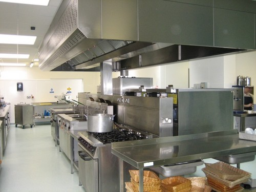 Restaurant Kitchen Setup