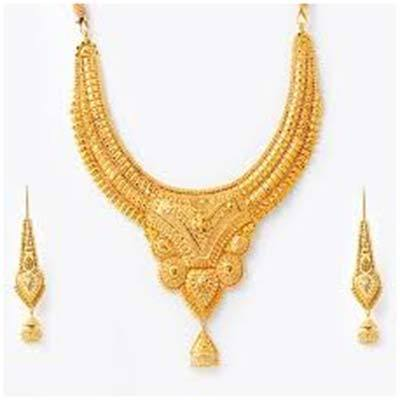 gold product sets chain fine indian necklace purchase jewellery carat set category necklaces