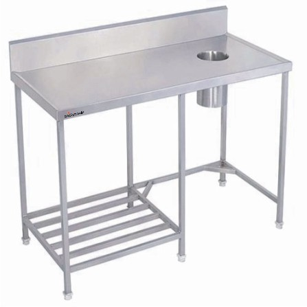 Stainless Steel Cookman Dish Landing Table