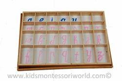 Moveable Alphabet Box
