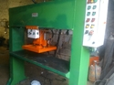 Running Head Leather Cutting Press Machine