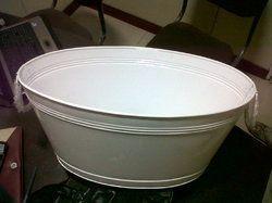 Powder Coated Beverage Tub