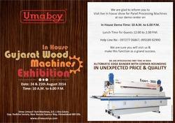 In House Gujarat Wood Machines Exhibition