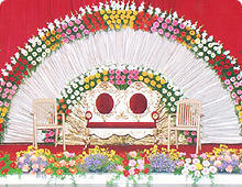 Decoration Flower Decoration Service Provider from Jaipur